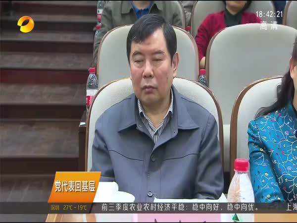 党代表回基层 党代表柴立元、列席代表高文兵宣讲十九大精神